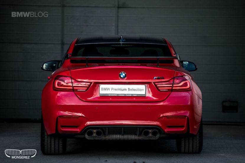 BMW M4 Ferrari Red 03 830x553