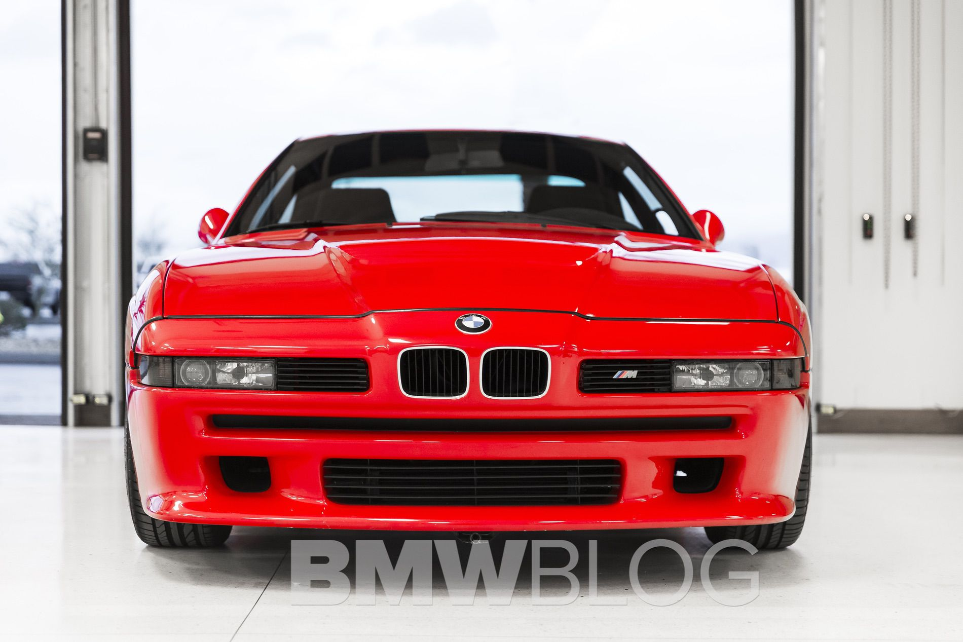 Here is the stunning BMW E31 M8 Prototype!