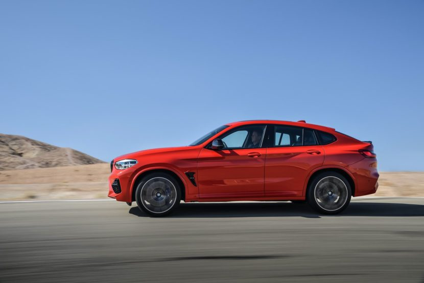 BMW X4M Competition exterior 24 830x553