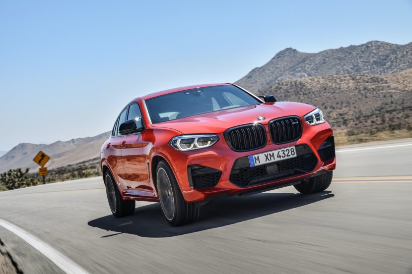 BMW X4M Competition exterior 31 830x553