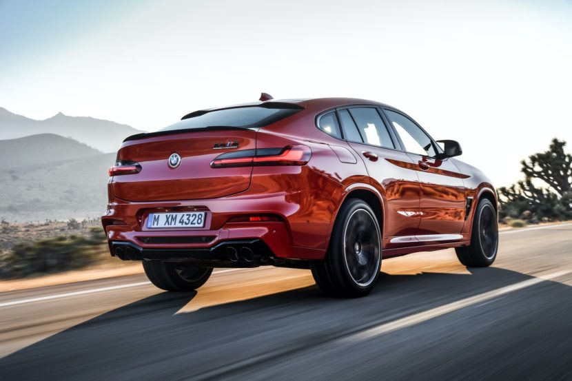 BMW X4M Competition exterior 33 830x553