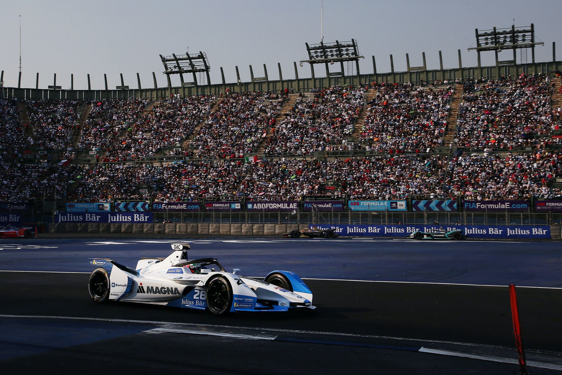 Formula E: BMW i Andretti Motorsport gets second place in Mexico City