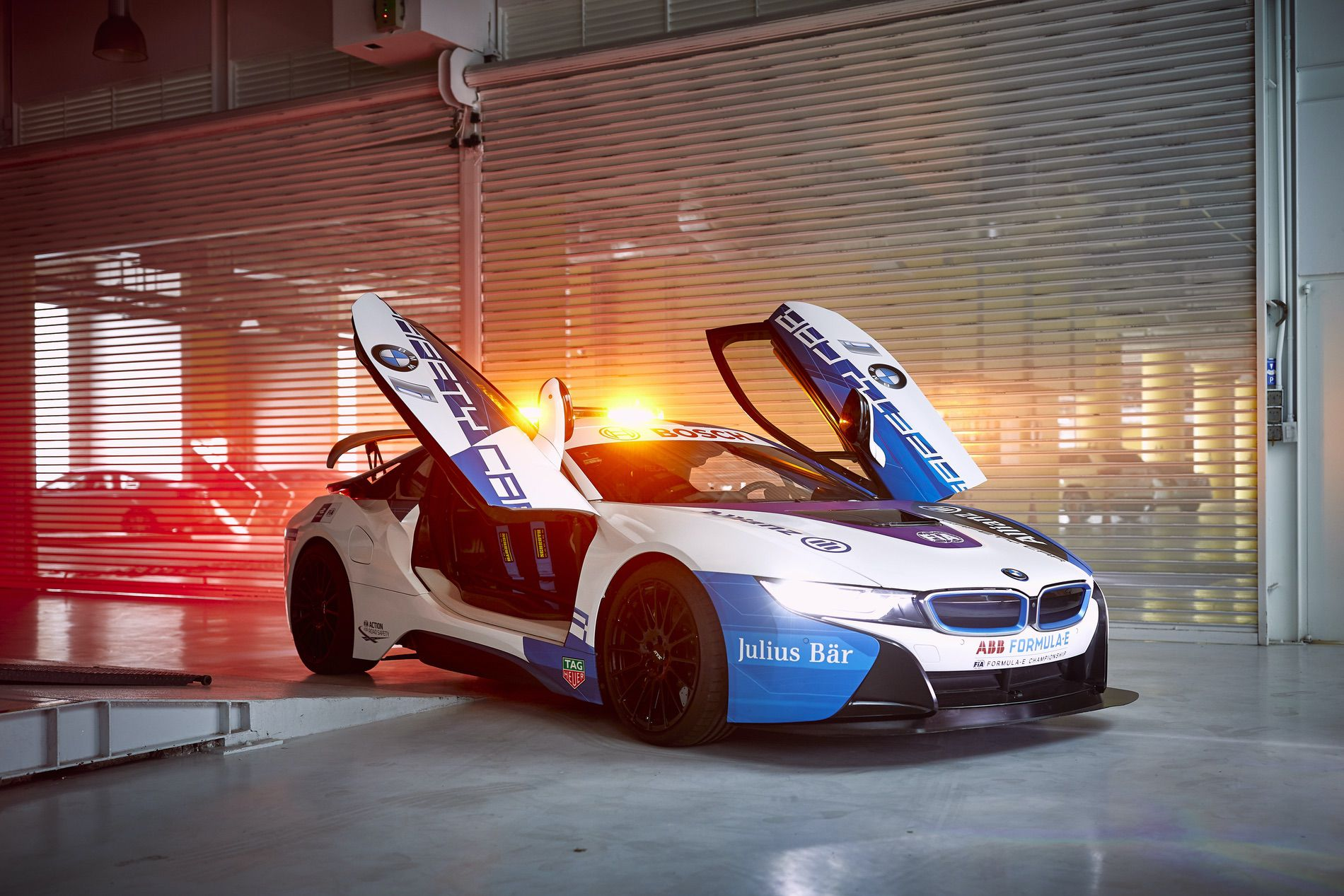 A new BMW i8 Coupe Safety Car will debut in Mexico's Formula E race