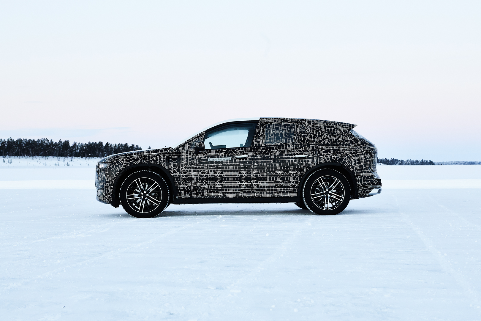 BMW iNEXT Winter Testing Sweden 1 of 4