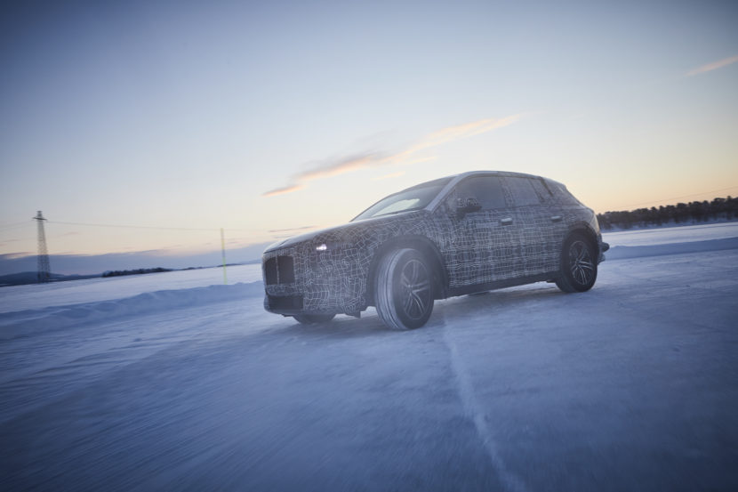 BMW iNEXT Winter Testing Sweden 2 of 4 830x553