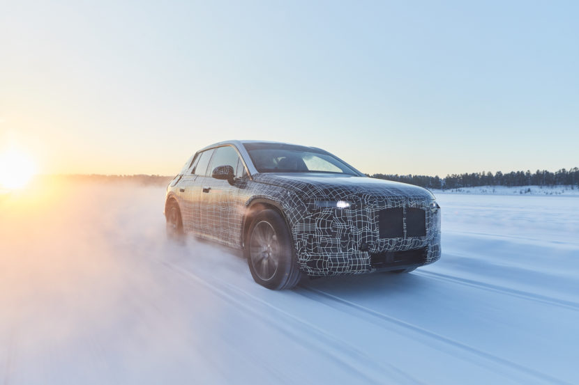 BMW iNEXT Winter Testing Sweden 3 of 4 830x553