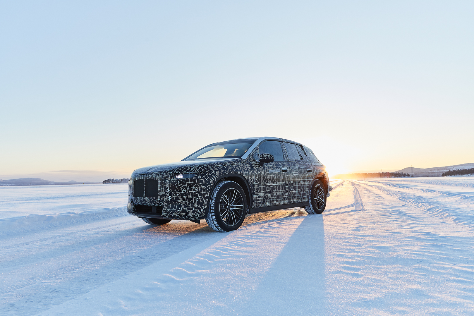 BMW iNEXT Winter Testing Sweden 4 of 4