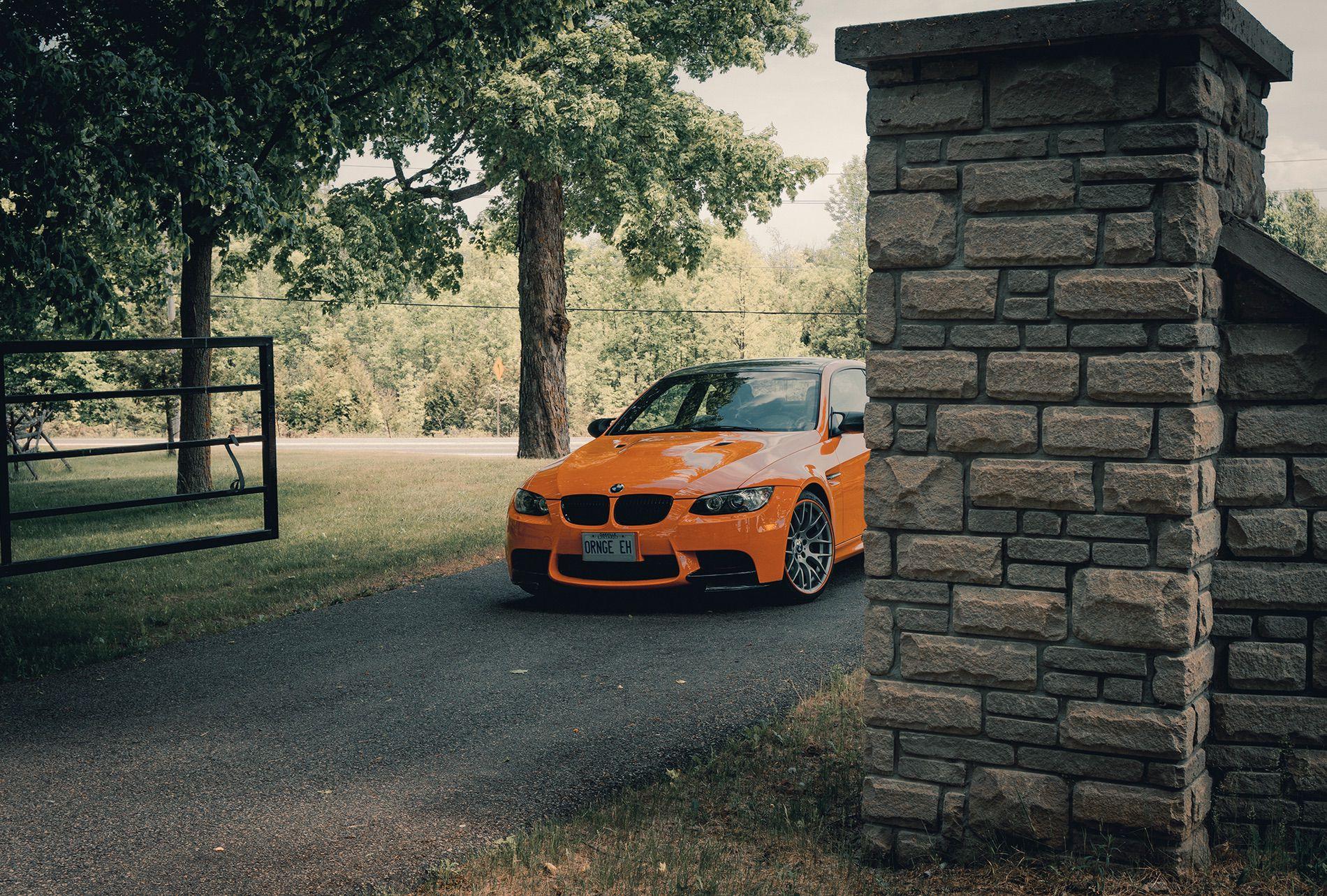Fire Orange E92 M3 01