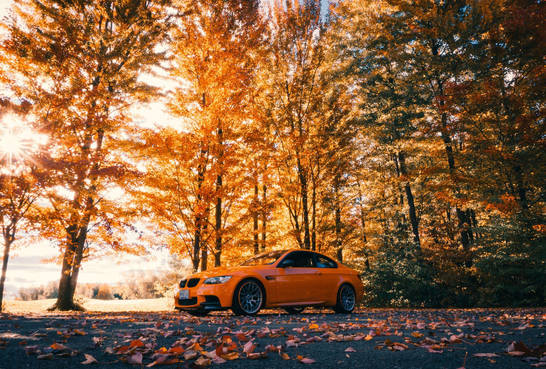 Fire Orange E92 M3 08