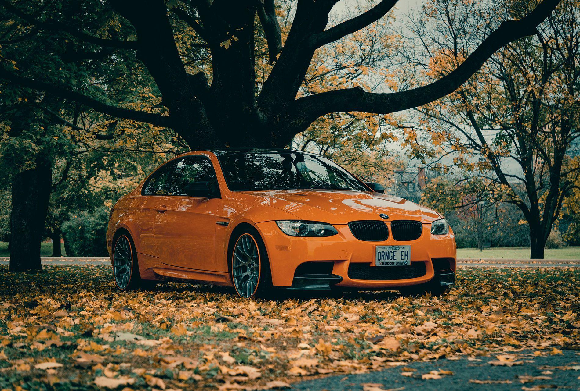 Fire Orange E92 M3 12