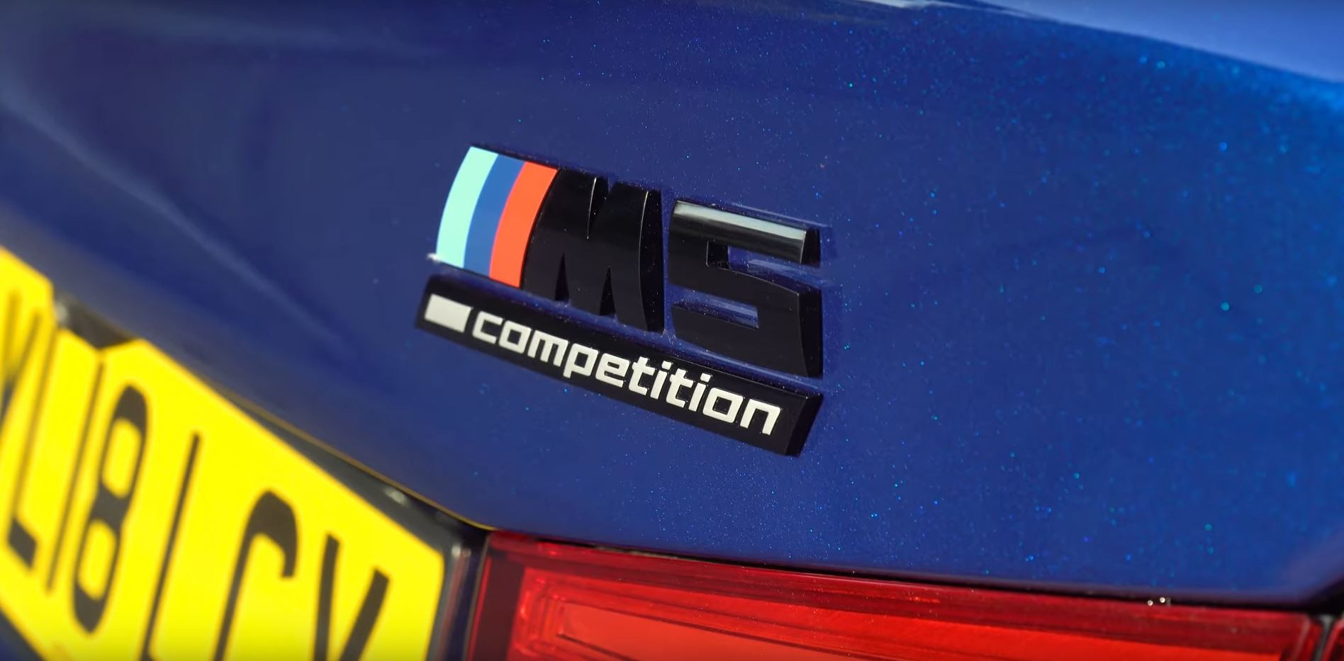 M5 Competition Badge
