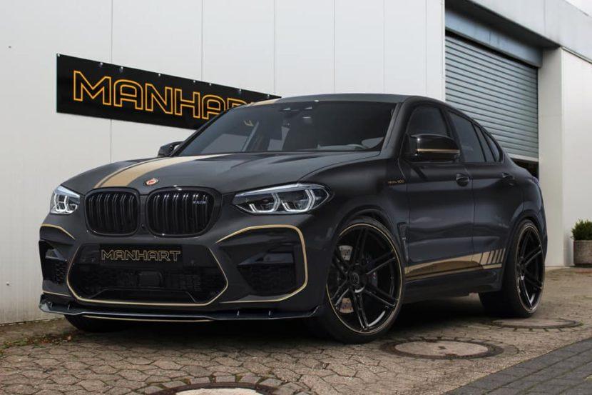 Manhart MHX4 600 BMW X4 M F98 Tuning 01 830x553