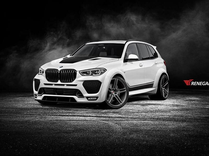 2020 Bmw X5 Stormtrooper Hails From Russia