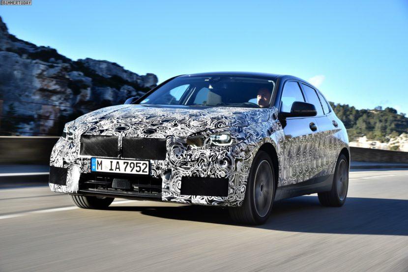 2019 BMW 1er F40 Spyshots Vorab Fahrbericht 118i 02 830x553