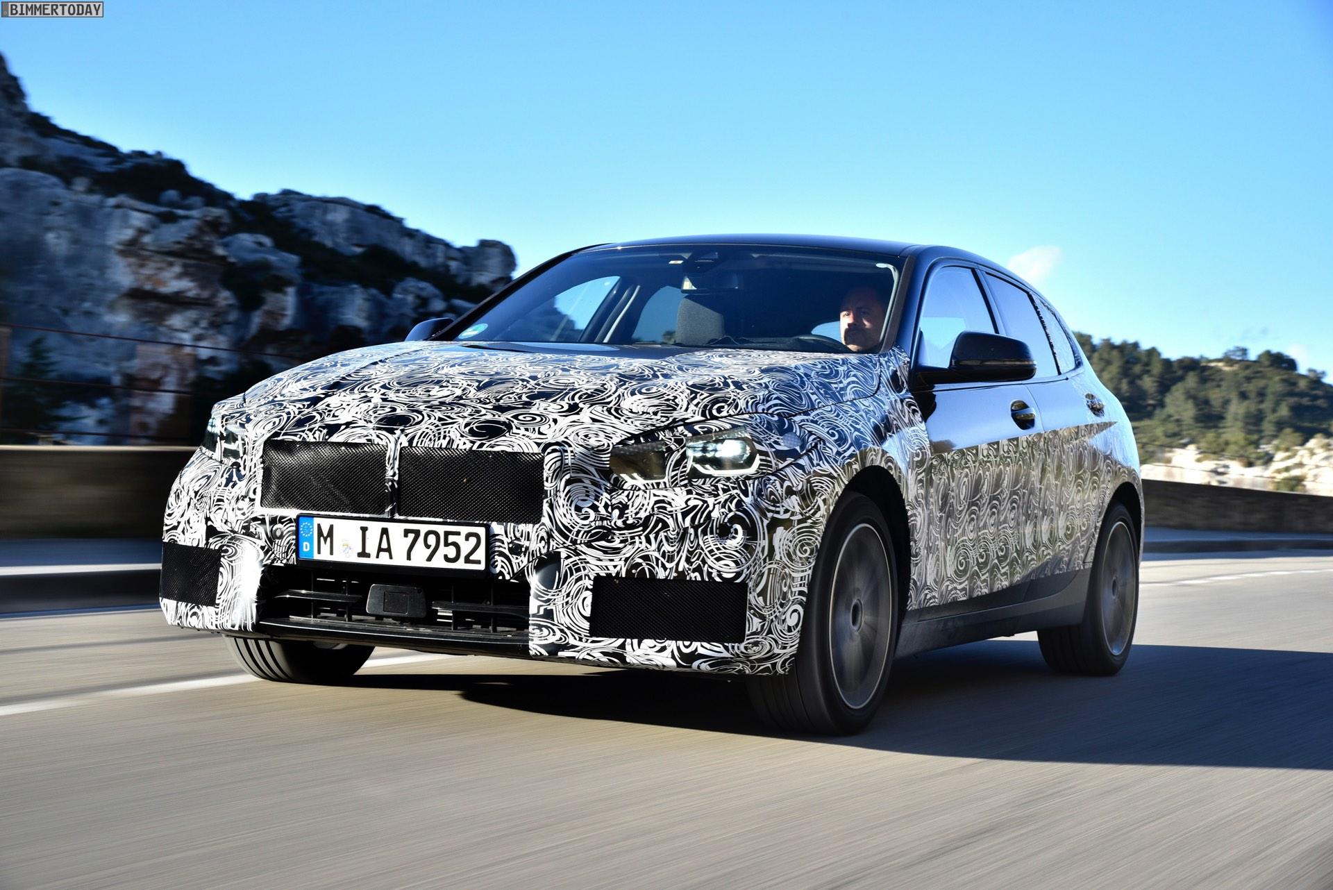 2019 BMW 1er F40 Spyshots Vorab Fahrbericht 118i 02