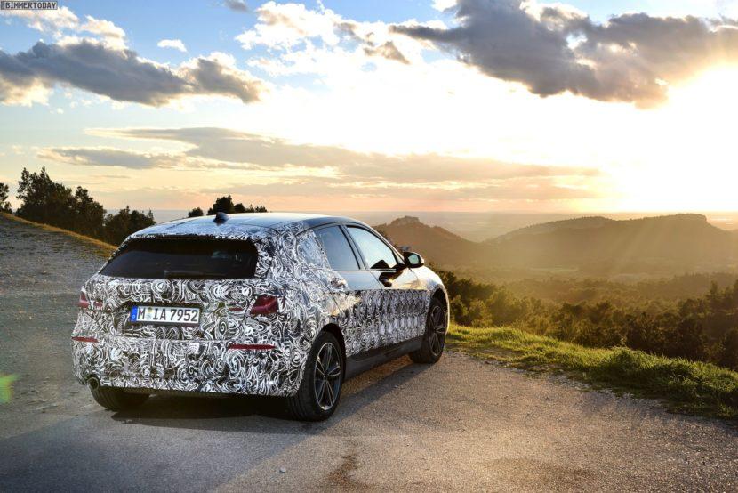 2019 BMW 1er F40 Spyshots Vorab Fahrbericht 118i 10 830x554