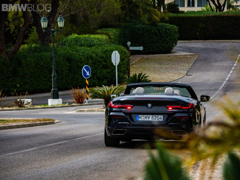 2019 BMW M850i Convertible photos 43 830x623