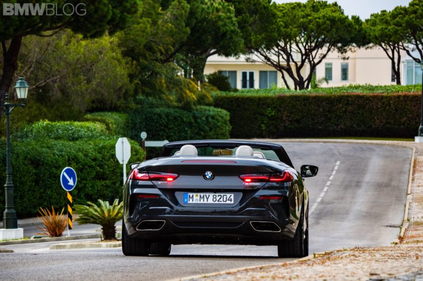 2019 BMW M850i Convertible photos 45 830x553