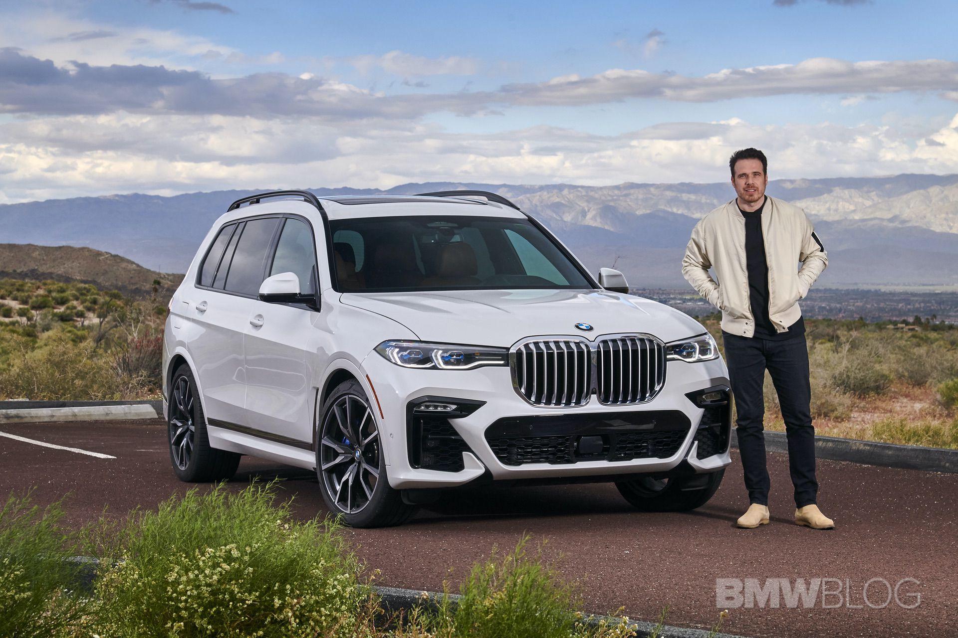 2019 BMW X7 drive 01