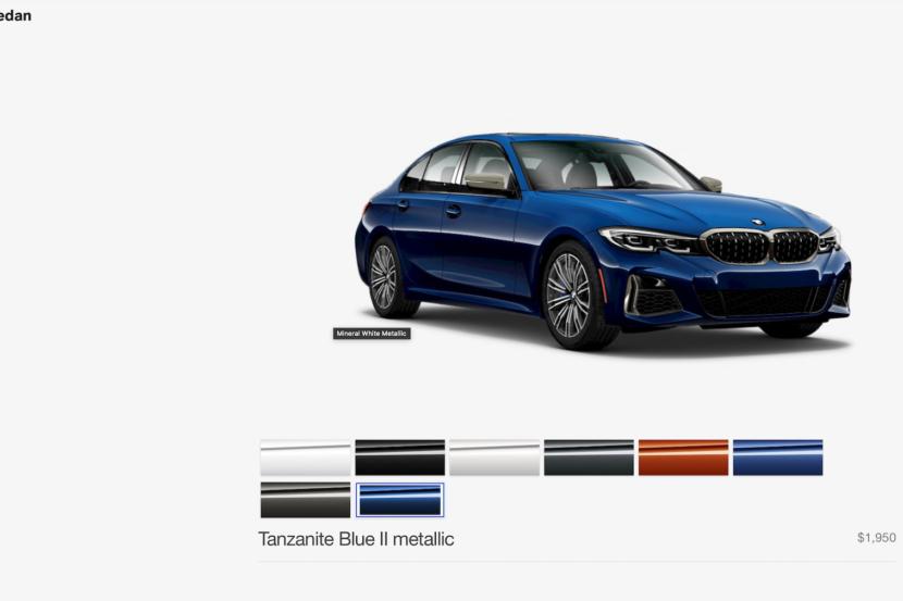 2020 BMW M340i configurator 2 830x553