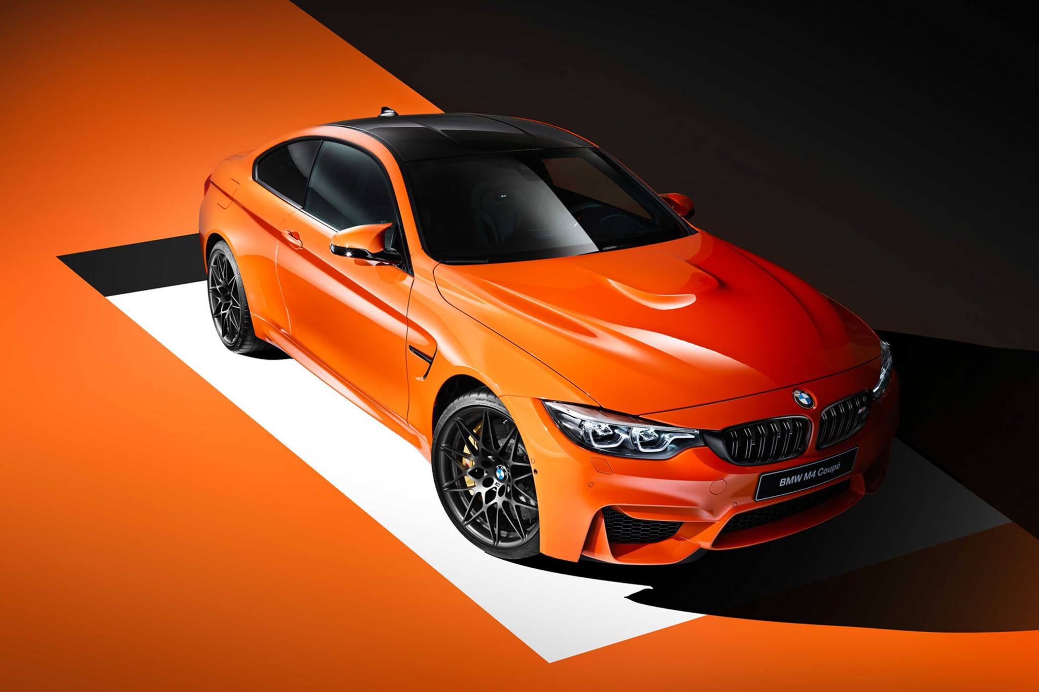 Bmw M Presents Bmw M4 Coupe Individual Fire Orange