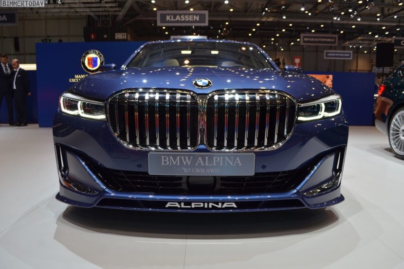 Geneva 2019 Live Photos Of Alpina B7 Facelift In Blue Color