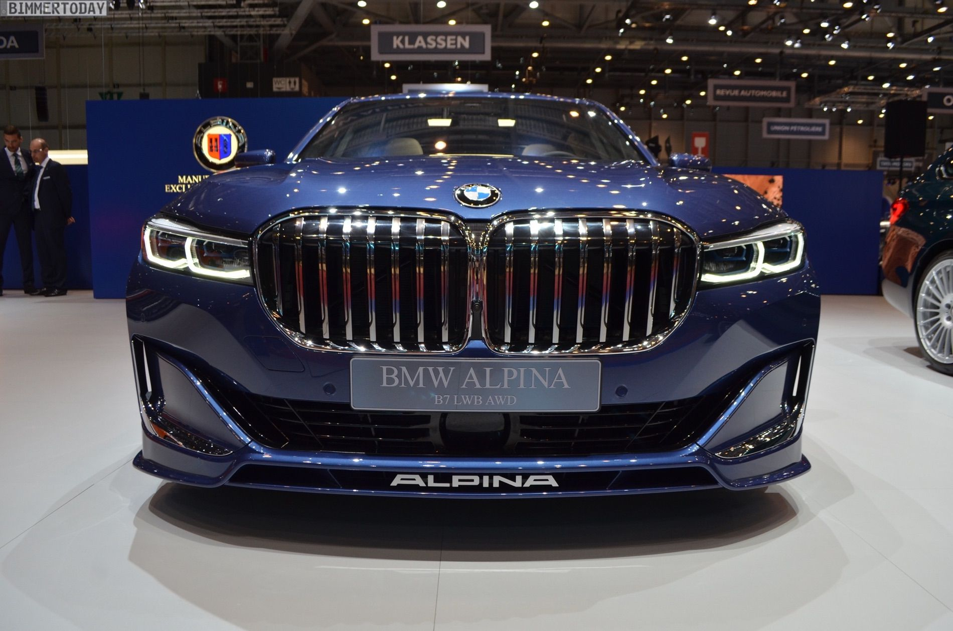 ALPINA B7 facelift blue 18