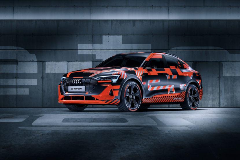 Audi e tron Sportback 1 of 7 830x553