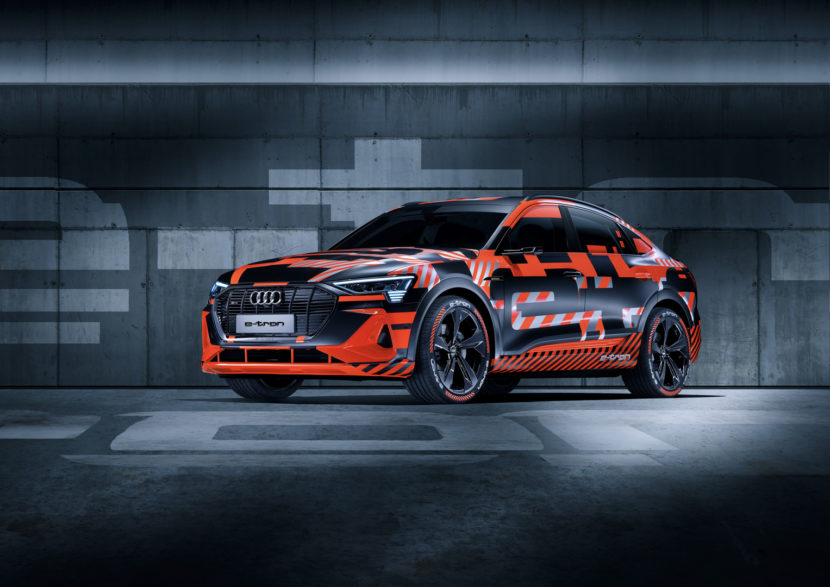 Audi e tron Sportback 1 of 7 830x587