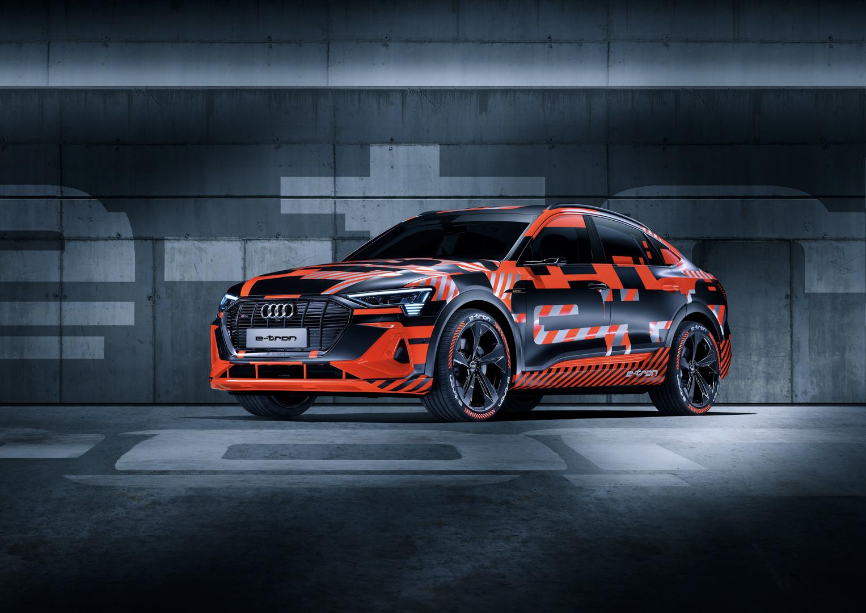Audi e tron Sportback 1 of 7