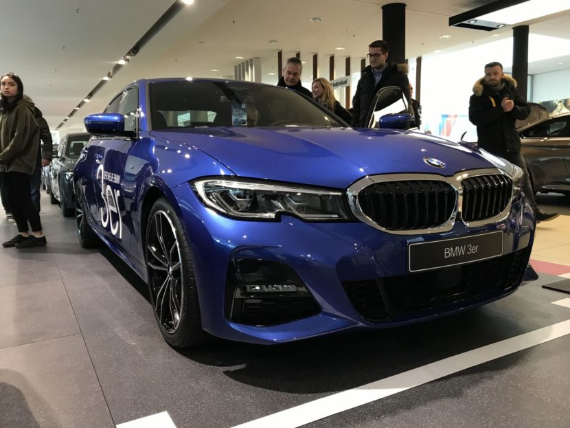 BMW 3 Series premiere at BMW Niederlassung Munich 01 830x623