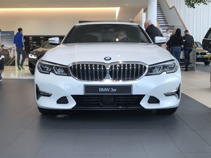 BMW 3 Series premiere at BMW Niederlassung Munich 11 830x623