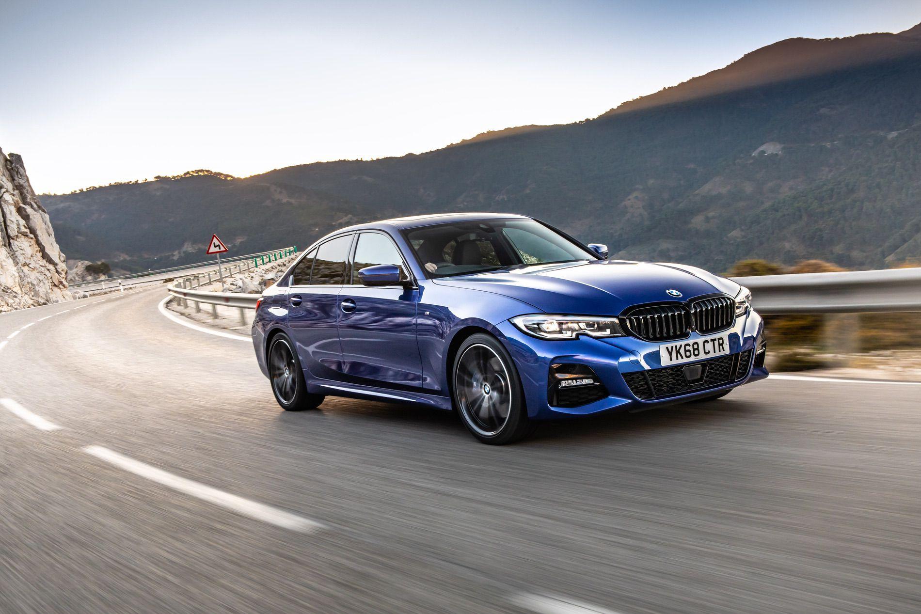 BMW 320d M Sport package Portimao Blue 33