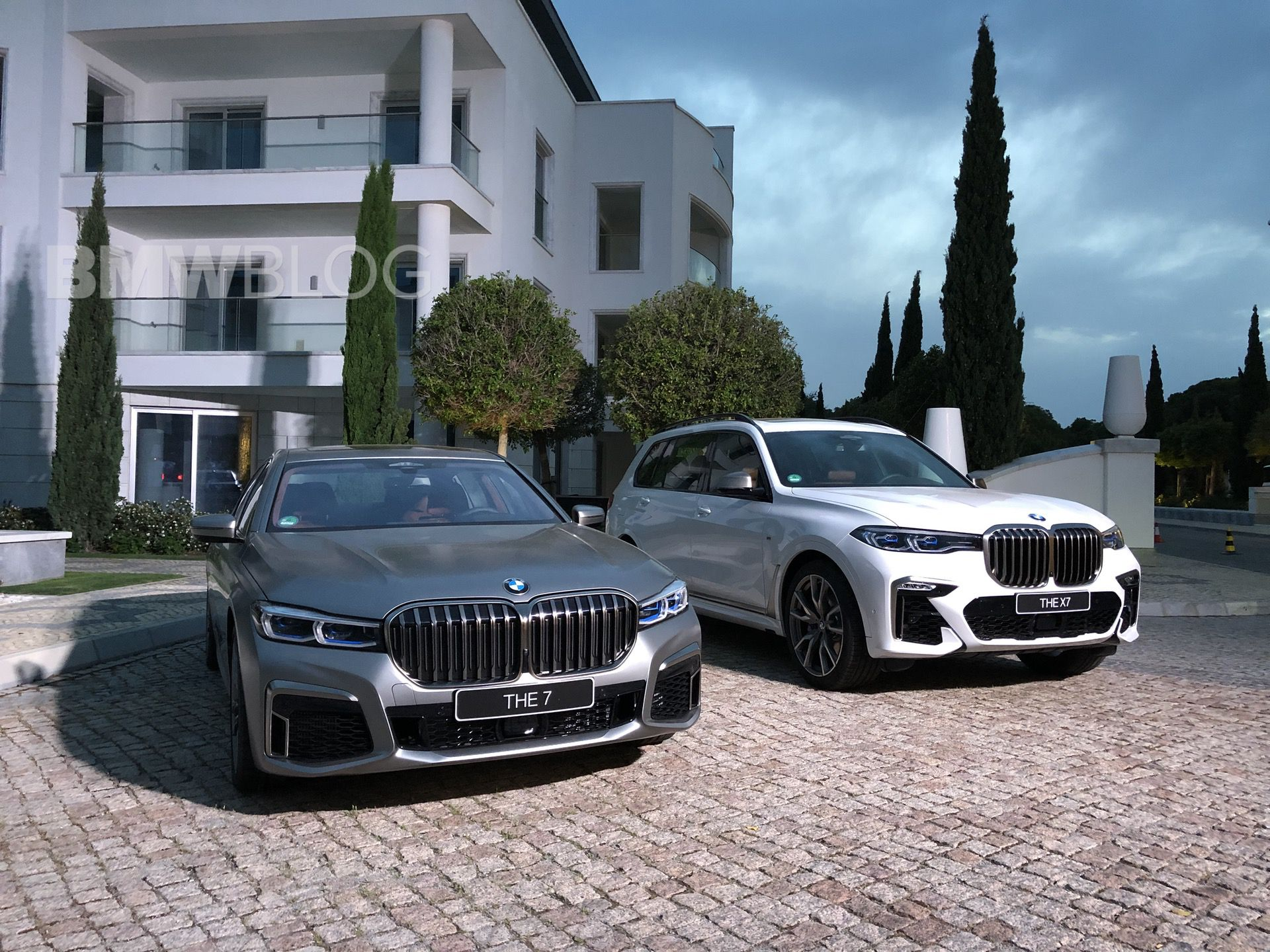 The Grill War Bmw 7 Series Facelift Vs Bmw X7