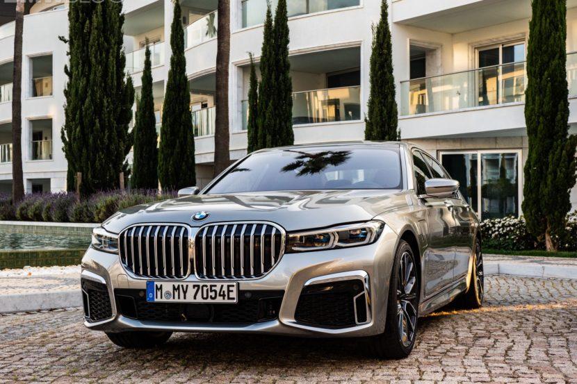 BMW 745Le hybrid 12 830x553