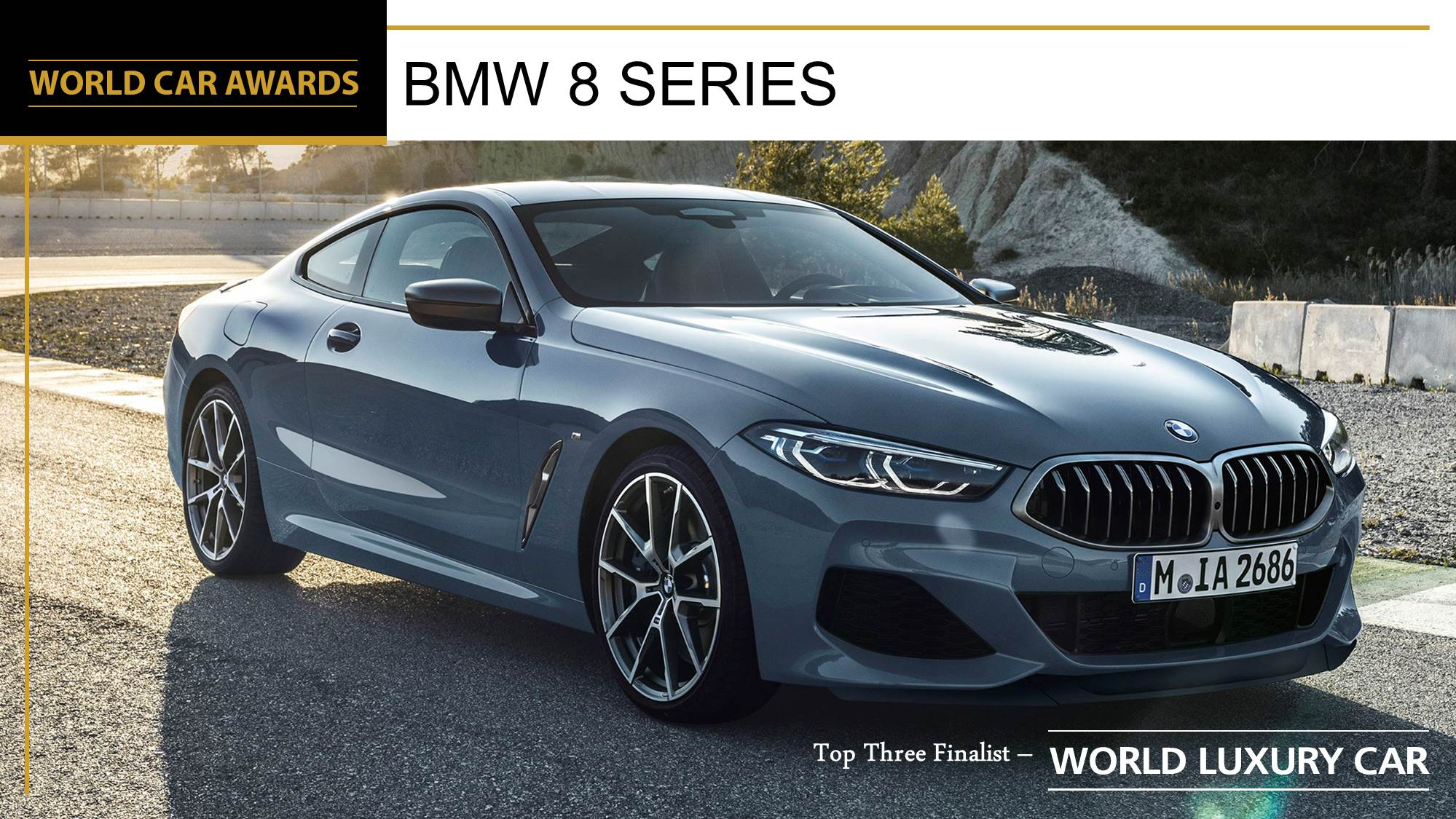 BMW 8 Series World Car of the Year