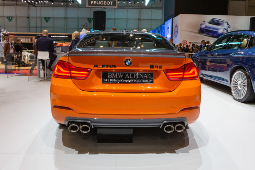 Geneva 2019 Bmw Alpina B4 S Biturbo Edition 99