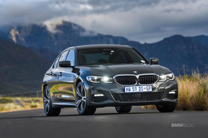2019 Bmw G20 320d In Mineral Grey Metallic