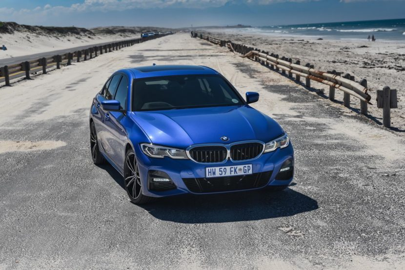 BMW G20 3 SERIES Portimao Blue 88 830x553