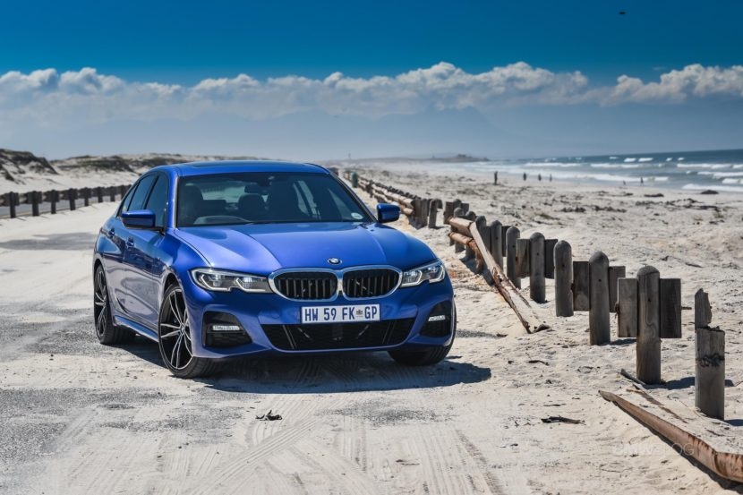 BMW G20 3 SERIES Portimao Blue 89 830x553