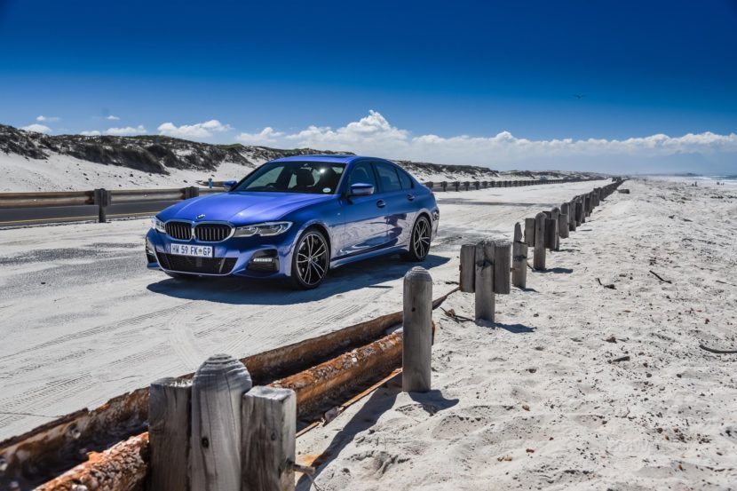BMW G20 3 SERIES Portimao Blue 95 830x553