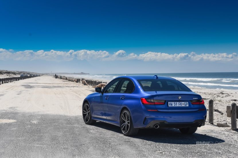 BMW G20 3 SERIES Portimao Blue 98 830x553