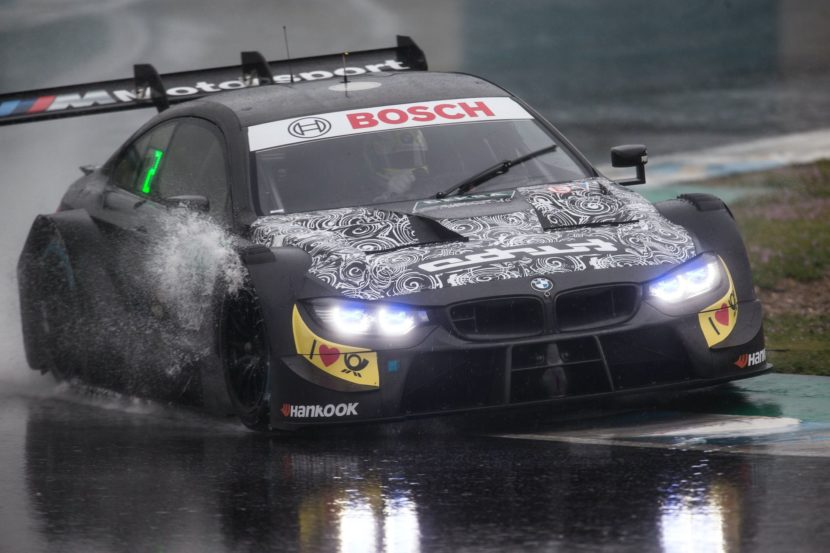 Testing Of The Four Cylinder Bmw M4 Dtm Continues In Spain