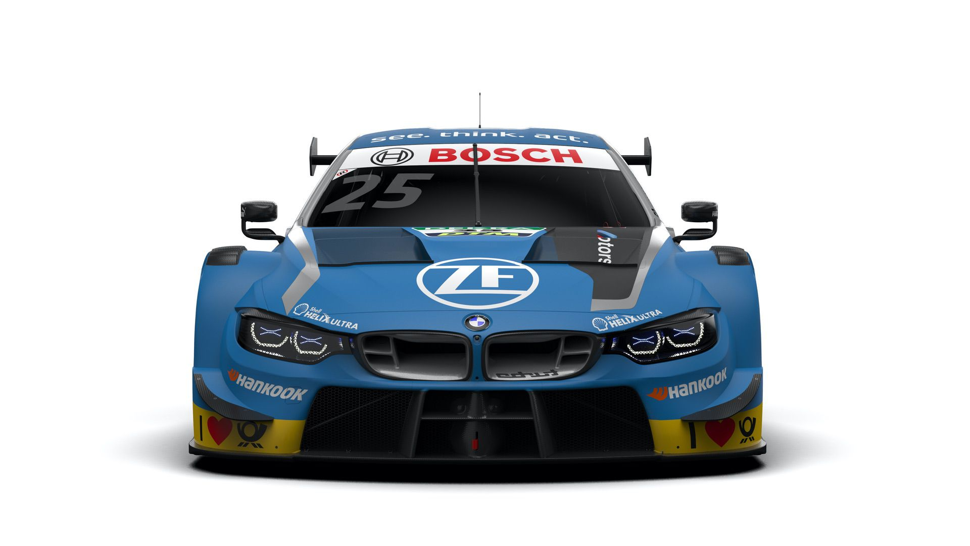 Bmw M Motorsport Presents First Dtm Car Design For 2019