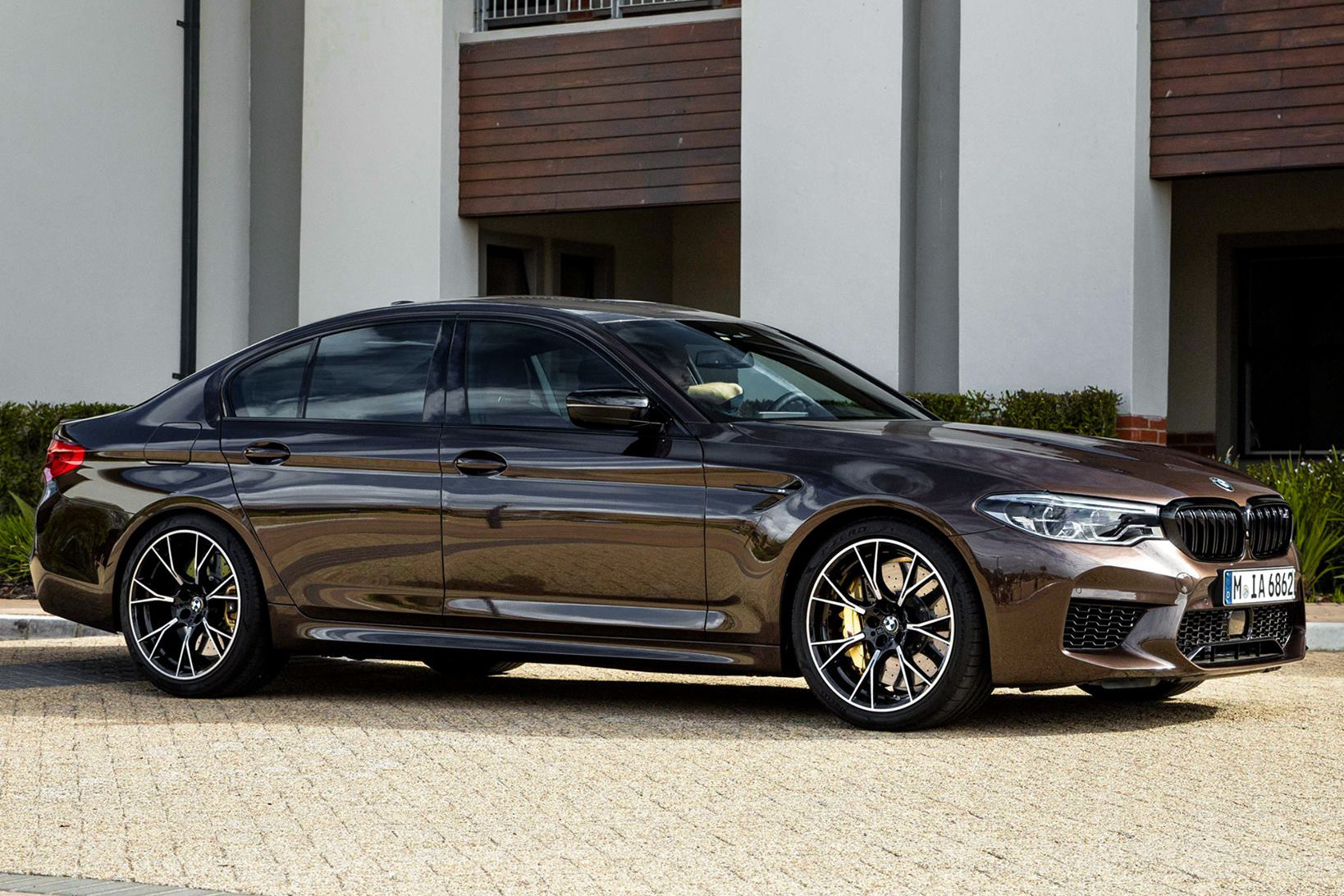 This Bmw M5 Competition Looks Stunning In Macadamia Metallic Individual