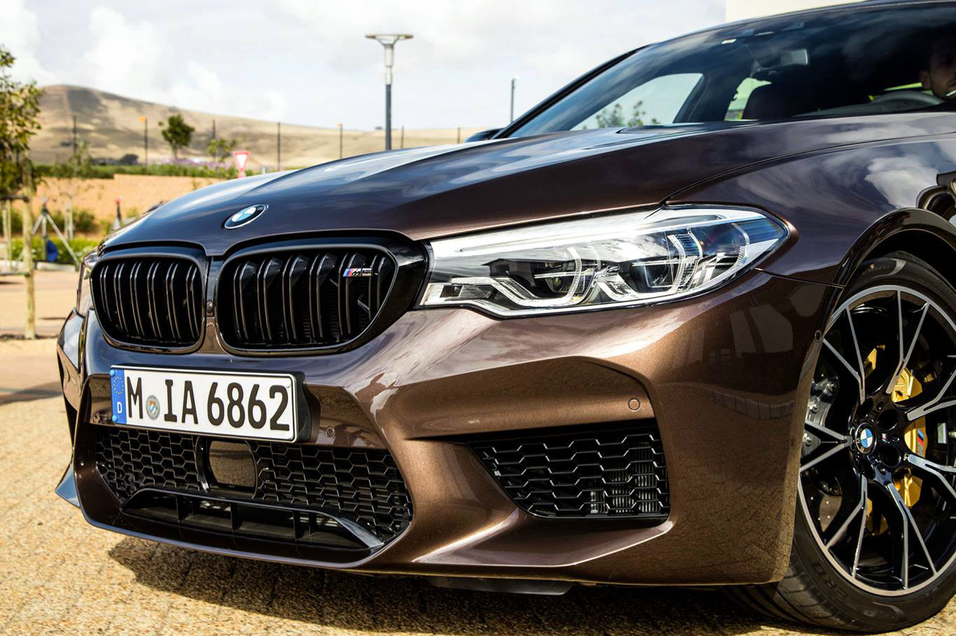 This Bmw M5 Competition Looks Stunning In Macadamia Metallic Individual I New Cars