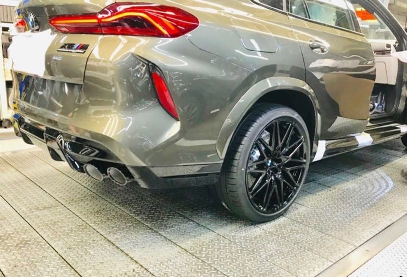 BMW X6 M Competition leak 812x553
