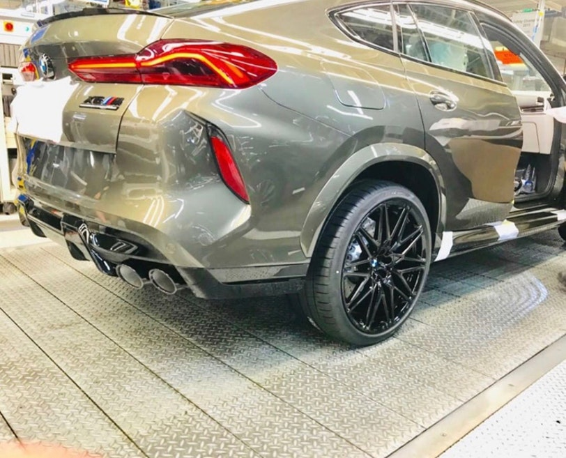 BMW X6 M Competition leak