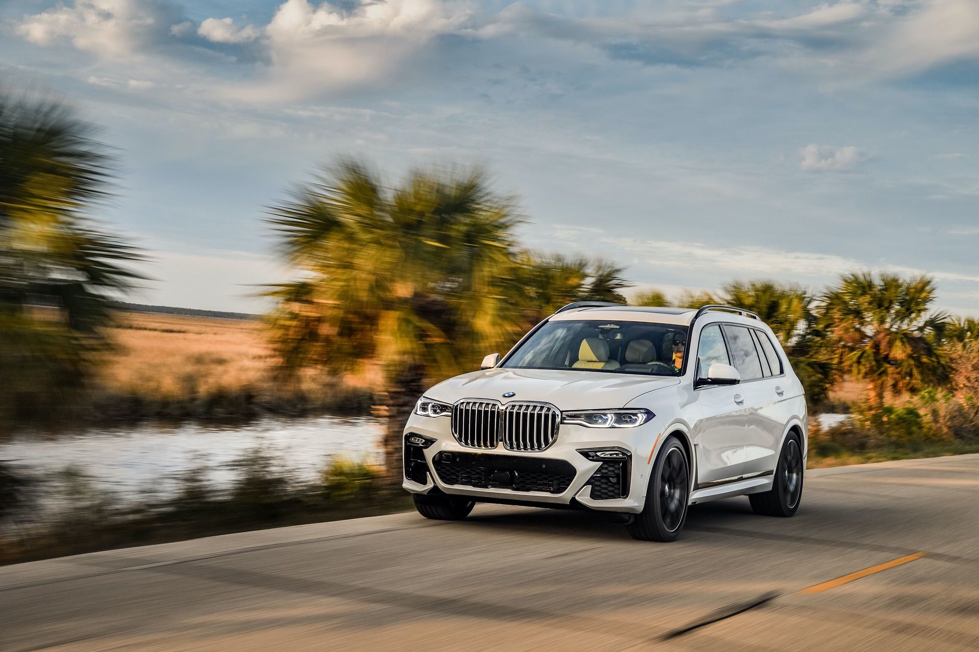 2019 BMW X7 xDrive50i in Mineral White Metallic