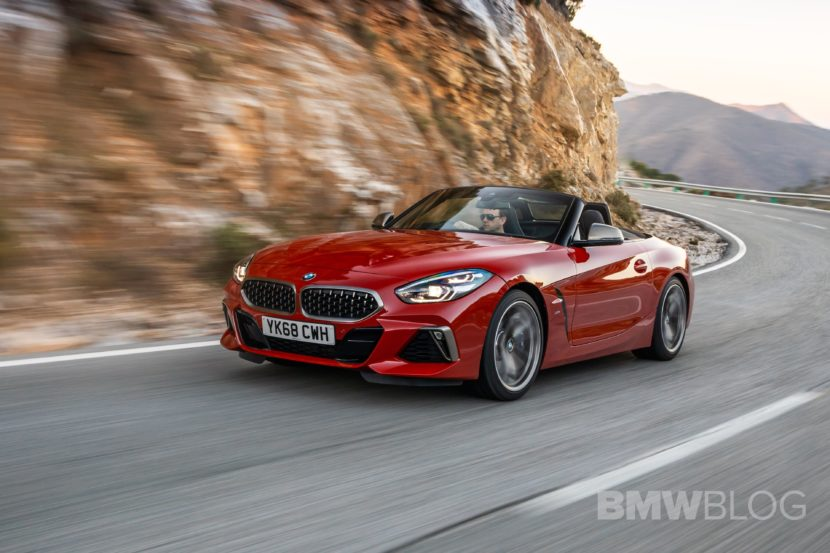 BMW Z4 M40i San Francisco Red 17 830x553